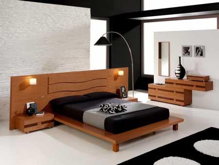 Projekty Sypialni oświetlenie