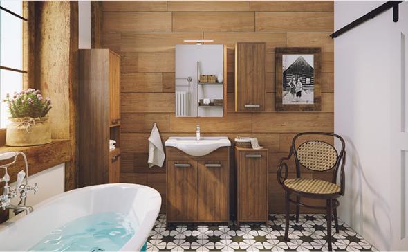 Łazienka w drewnie - Defra