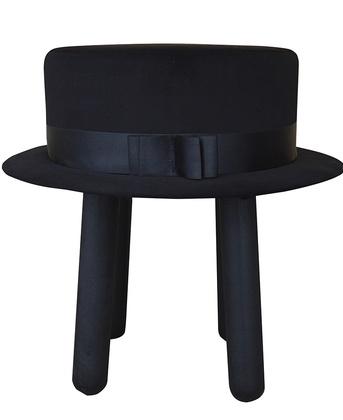 stołek jak kapelusz