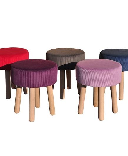 stołki kolorowe