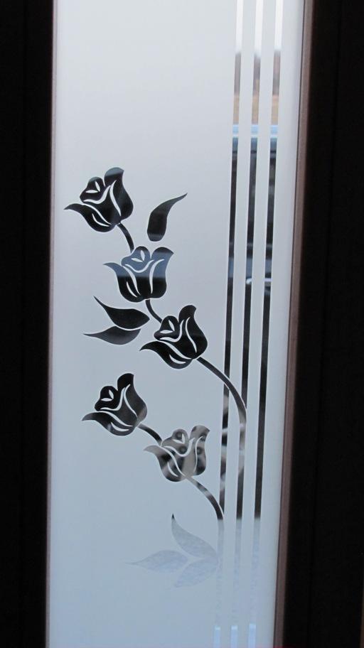 Szkło Piaskowane