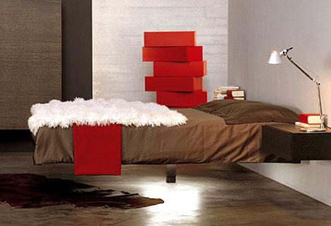 Wiszące łóżko : Wiszące meble